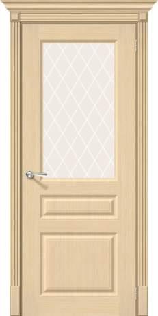 Фото дверь Статус-15 White Сrystal