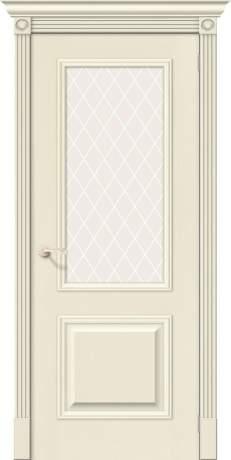 Фото дверь Вуд Классик-13 White Сrystal
