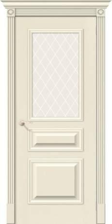 Фото дверь Вуд Классик-15.1 White Сrystal