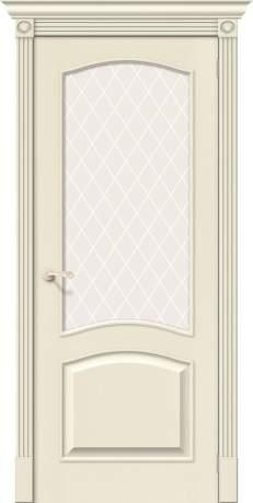 Фото дверь Вуд Классик-33 White Сrystal