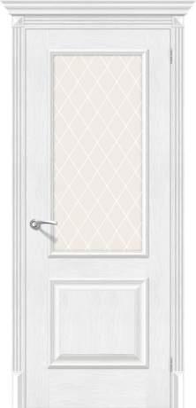 Фото дверь Классико-13 (new) White Сrystal