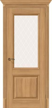 Фото дверь Классико-33 White Сrystal
