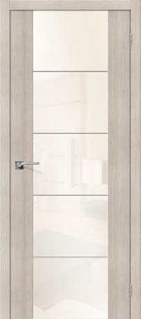 Фото дверь V4 WР White Pearl