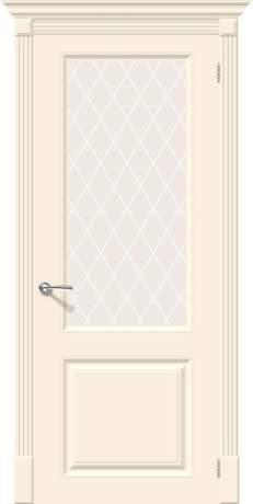 Фото дверь Скинни-13 White Сrystal