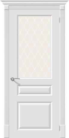 Фото дверь Скинни-15.1 White Сrystal