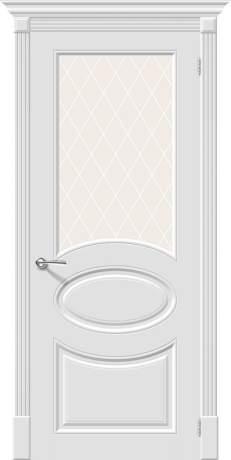 Фото дверь Скинни-21 White Сrystal