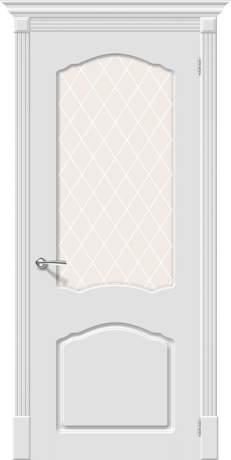 Фото дверь Скинни-31 White Сrystal