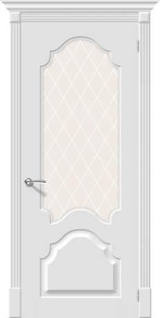 Фото дверь Скинни-33 White Сrystal